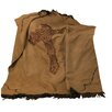 <strong>HiEnd Accents</strong> Crosses Barbwire Faux Suede Throw