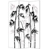 "Screen Gems 72"" x 48"" Leaf Screen 3 Panel Room Divider"