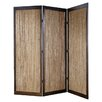"<strong>Screen Gems</strong> 72"" x 72"" Lahaina 3 Panel Room Divider"