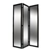 "Screen Gems 69"" X 50"" Mirror 3 Panel Room Divider"