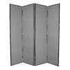 "<strong>84"" x 80"" Mandalay 4 Panel Room Divider</strong> by Screen Gems"