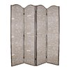 "Screen Gems 84"" x 80"" Galore 4 Panel Room Divider"