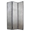 "Screen Gems 71"" x 47"" Industrial 3 Panel Room Divider"