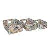 Screen Gems 3 Piece Recycle Wastebin Set