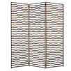 "<strong>Screen Gems</strong> 72"" x 65"" Minka 3 Panel Room Divider"