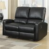 AC Pacific Bryant Reclining Loveseat