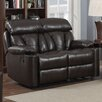 <strong>AC Pacific</strong> Easton Reclining Loveseat