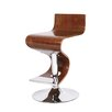 AC Pacific Atlantic Adjustable Height Swivel Bar Stool