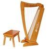 Schoenhut 15 String Harp in Cherry