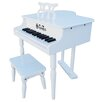 <strong>Schoenhut</strong> 30 Key Classic Baby Grand Piano in White