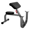 X-Mark 7400 Series Commercial 11 Gauge Seated Preacher Curl Bench