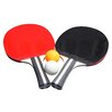 Hathaway Games Single Star Control Spin Table Tennis 2-Player Racket and Ball Set