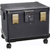 Honeywell 1.1 CuFt Legal Size Waterproof 1 Hour Fire File Molded Chest
