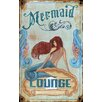 <strong>Red Horse Mermaid Vintage Advertisement Plaque</strong> by Vintage Signs