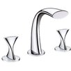 <strong>Ultra Faucets</strong> Double Handle Bathroom Widespread Faucet