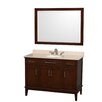 "<strong>Wyndham Collection</strong> Hatton 48"" Single Bathroom Vanity Set"