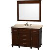 "Wyndham Collection Berkeley 48"" Vanity Set with Single Sink"