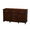 "Wyndham Collection Berkeley 59"" Double Vanity Base"