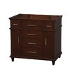 "Wyndham Collection Berkeley 35"" Single Vanity Base"