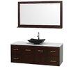 "Wyndham Collection Centra 60"" Single Bathroom Vanity Set"
