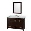 "Wyndham Collection Sheffield 48"" Bathroom Vanity Set with Single Sink"