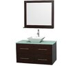 """Wyndham Collection Centra 42"""" Bathroom Vanity Set with Single Sink"""
