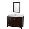"Wyndham Collection Sheffield 48"" Single Bathroom Vanity Set"