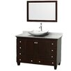"Wyndham Collection Acclaim 48"" Bathroom Vanity Set with Single Sink"