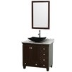 "Wyndham Collection Acclaim 36"" Bathroom Vanity Set with Single Sink"
