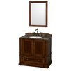 "Wyndham Collection Rochester 36"" Single Bathroom Vanity Set"
