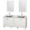"Wyndham Collection Acclaim 72"" Double Bathroom Vanity Set"