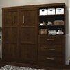 Bestar Pur Full Storage Murphy Bed Kit