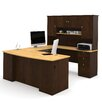 Bestar Manhattan U-Shape Desk Office Suite