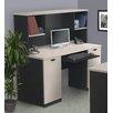 Bestar Hampton Computer Desk and Hutch