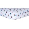 <strong>Snowman Print Crib Sheet</strong> by Trend Lab