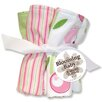 Tulip Five Piece Terry Wash Cloth Set