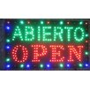 Creative Motion Abierto Open Sign