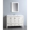 "<strong>Chelsea 48"" Bathroom Vanity Set</strong> by Simpli Home"