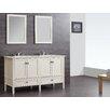 "Simpli Home Chelsea 60"" Double Bath Vanity Set"
