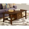 Simpli Home Acadian Coffee Table