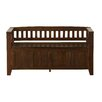 Simpli Home Acadian Entryway Storage Bench