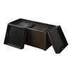 Simpli Home Avalon Storage Ottoman (Set of 3)