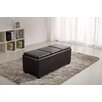 <strong>Simpli Home</strong> Avalon Rectangular Storage Ottoman with 3 Serving Trays