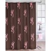 <strong>Buckmark Shower Curtain</strong> by Browning