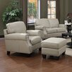 At Home Designs Uptown Arm Chair and Ottoman