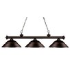 <strong>Z-Lite</strong> Riviera 3 Light Billiard Pendant