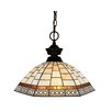 Z-Lite Aztec 1 Light Mini Pendant