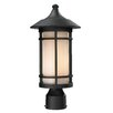 Z-Lite Woodland 1 Light Outdoor Post Lantern