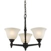 Clayton 3 Light Mini Chandelier