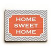 Artehouse LLC Home Sweet Home Wood Sign